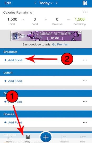 How to add a food on MyFitnessPal.