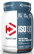 Dymatize ISO-100 Whey Protein.