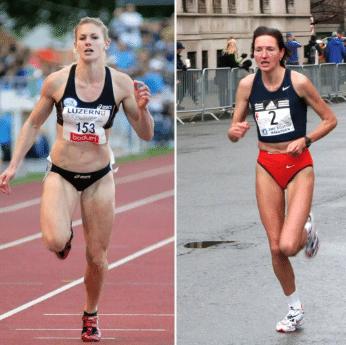 Imagen Fibras Muscular de Sprinters in Maratonistas
