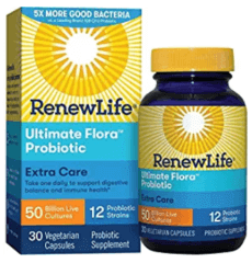 Renew Life probiotic for weight loss.