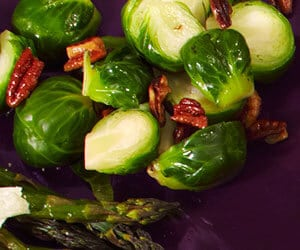 Image of brown-butter brussel sprouts