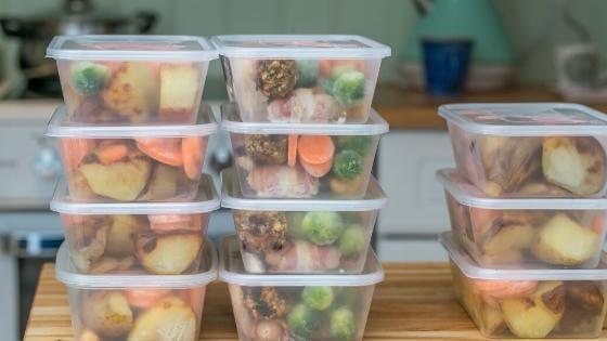 Image of prepped meals.
