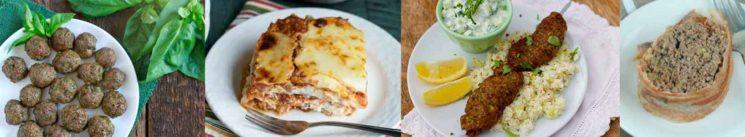 Beef Lunch & Dinner Keto Freezer Meals