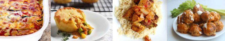 Chicken Lunch & Dinner Keto Freezer Meals