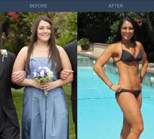 Katy Thompson keto weight loss transformation [Custom Keto Diet]