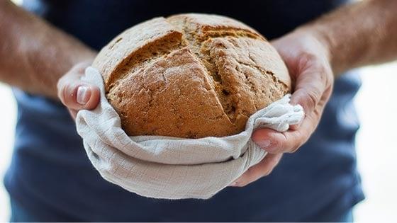 No yeast bread.