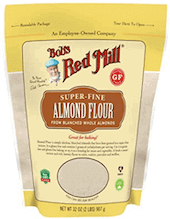 Almond flour, Bobs Red Mill.
