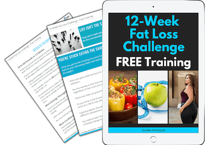 12-Week Fat Loss Challenge Free Training Guide