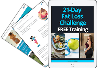 21-Day Fat Loss Challenge free training guide