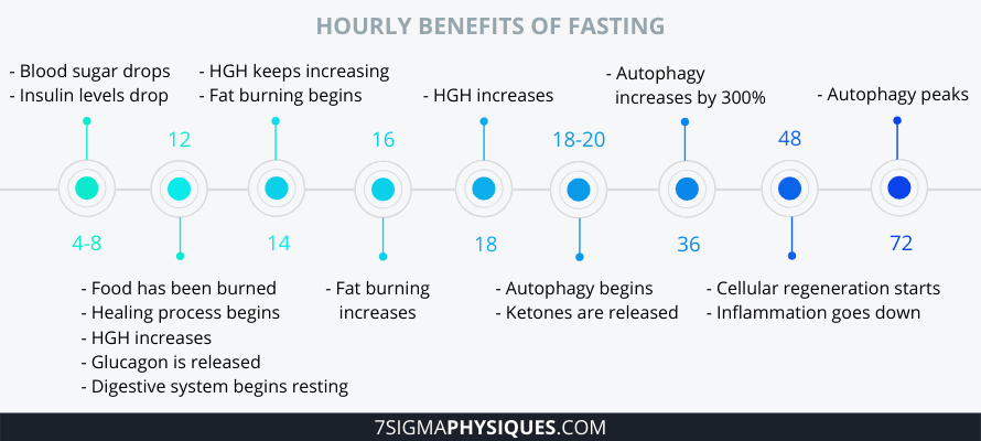 Hourly Benefits of Fasting